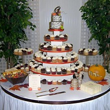 220x220 sq 1310610803202 fallcupcakeweddingcakers10