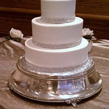 220x220 sq 1326161020552 crystalweddingcakers11