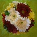 130x130 sq 1388695055151 silk mixed color gerber daisy bouque