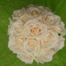 130x130 sq 1400840200102 white rose bouquet top vie