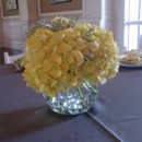 130x130 sq 1400841780104 centerpiece hydrangea in 6 in. rose bowl with clea