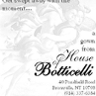 House of Botticelli