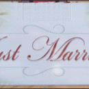 130x130 sq 1420231091561 just married sign1