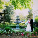 130x130 sq 1375476676897 luisa  kevin kissing in front garden after ceremony