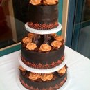 130x130 sq 1221794783076 weddingcake(09 07 08)