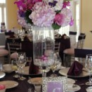 130x130 sq 1465430064579 small purple centerpiece