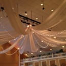 130x130 sq 1465430995792 ceiling drape with lights at heritage spring