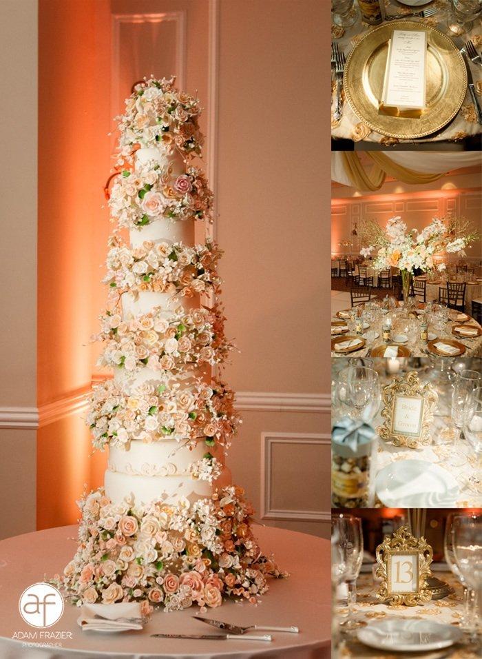 Simple Elegance In Cake Design Wedding Cake Las Vegas