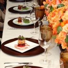 220x220 sq 1432069714827 greek table with salad edit