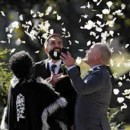 130x130 sq 1413854795620 lgbt. beautiful wedding with rose petals. flyboy n