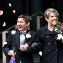 130x130 sq 1413855204270 lgbt. wedding photo. happy couple with petal toss.