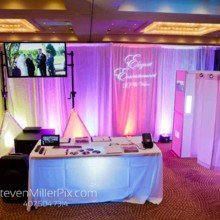220x220 sq 1466264100417 elegant entertainment bridal show pic small