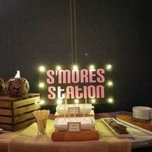220x220 sq 1464726889 d0fa73f7d4c93ea5 s mores with lighted sign