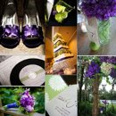 130x130 sq 1288105323316 weddinginspirationboardpurpleandgreen