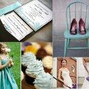 130x130 sq 1288105328035 weddinginspirationboardpurpleandteal