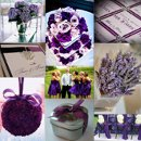130x130 sq 1288105334019 weddinginspirationboardpurpleandsilver