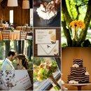 130x130 sq 1288181809550 weddinginspirationboardbrownandorange