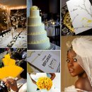 130x130 sq 1288183782722 weddinginspirationboardblackandyellow