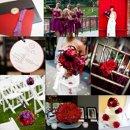 130x130 sq 1288192778503 weddinginspirationboardredandpurple