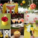 130x130 sq 1288197438441 weddinginspirationboardyellowandpink