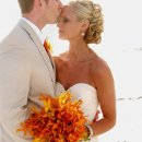 130x130 sq 1288273337191 fishhawkweddingseventsorangeandyellowbouquet