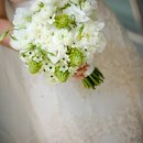 130x130 sq 1288279021425 astemabovegreenandwhitebouquet