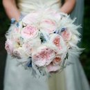 130x130 sq 1288289645343 dreamsonadimeeventsweddingspinkandbluewithwhitefeathers