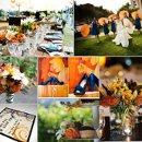 130x130 sq 1288623070716 weddinginspirationboardblueandorange