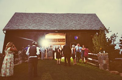 Rustic Barn Wedding In Michigan Wedding Real Weddings