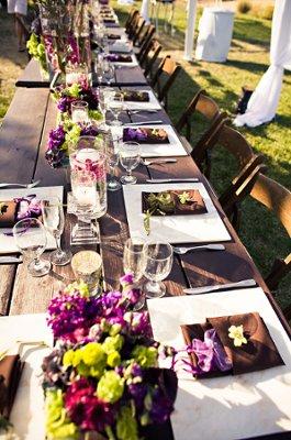 Purple California Summer Wedding Wedding Real Weddings