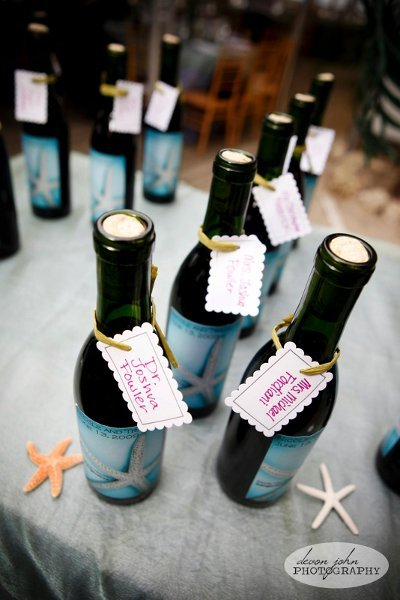Best Bottled Favors Wedding Favors Photos By Devon John