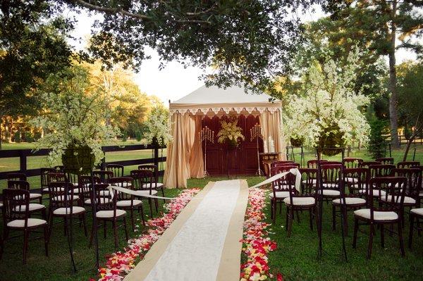 Aisle Runner Garden Outdoor Ceremony Wedding Ceremony