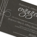 130x130 sq 1421870851461 mg black and silver engagement party invite