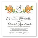 130x130 sq 1421875171528 floral monogram wedding invitation