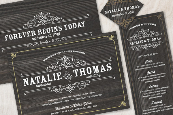 the american wedding - peru, in wedding invitation, Wedding invitations