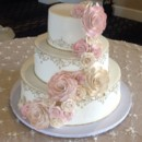 130x130 sq 1418319831064 rosette cake