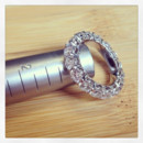 130x130 sq 1398964445577 diamond eternity wedding rin