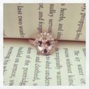 130x130 sq 1398964465579 morganite rose gold engagement ring