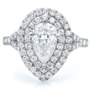 130x130 sq 1398965116770 pear engagement ring double hal