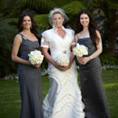 130x130 sq 1391547444384 cattelyaorchid bouquetgrey gown