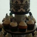 130x130 sq 1390496727606 cupcakesblackwhite