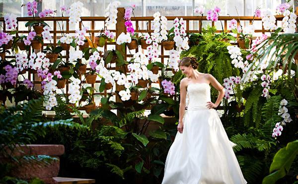 Atlanta Botanical Garden Wedding Ceremony Reception Venue Wedding Rehearsal Dinner Location