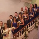 130x130 sq 1450485247617 kate and wedding party on stairs