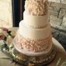 130x130 sq 1449566970749 blush rosette cake
