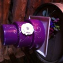 130x130 sq 1449567234030 purple and silver cake