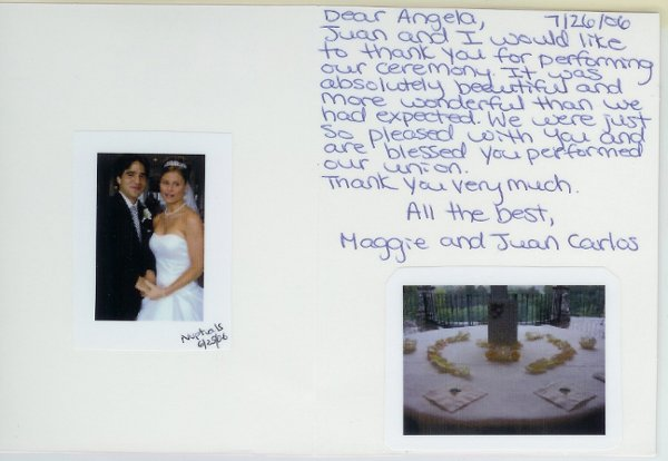 photo 12 of Angela Heil - NYC Reg. Wedding Officiant-Interfaith Minister