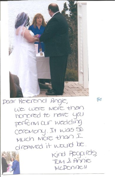 photo 24 of Angela Heil - NYC Reg. Wedding Officiant-Interfaith Minister