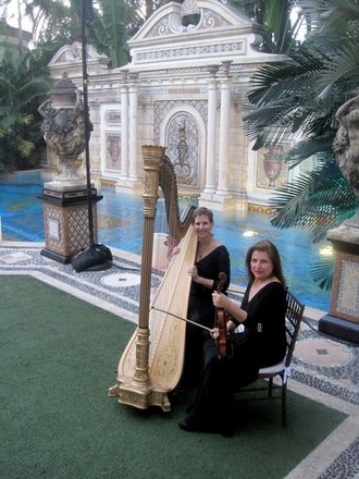 The Elegant Harp & String Ensemble: Florida Harpists Esther & AnnaLisa Underhay