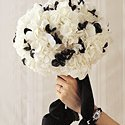 130x130 sq 1267234395160 blackwhitebouquet