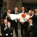 130x130 sq 1395005492818 black  orange wedding bride  grromsmen   a memory